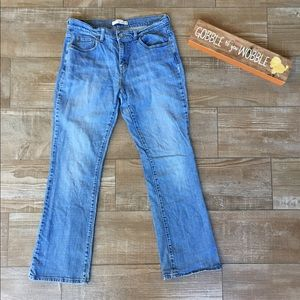 Levi's Bootcut 515 Light Washed Blue Jeans